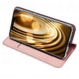 Husa Flip Tip Carte DuxDucis Skin Pro pentru Huawei Mate 20 Pro , Gri DuxDucis - 5