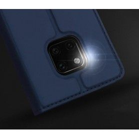 Husa Flip Tip Carte DuxDucis Skin Pro pentru Huawei Mate 20 Pro , Midnight Blue DuxDucis - 4
