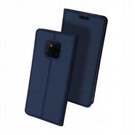 Husa Flip Tip Carte DuxDucis Skin Pro pentru Huawei Mate 20 Pro , Midnight Blue DuxDucis - 2