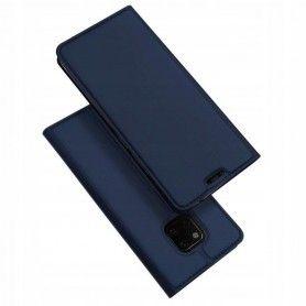 Husa Flip Tip Carte DuxDucis Skin Pro pentru Huawei Mate 20 Pro , Midnight Blue DuxDucis - 3