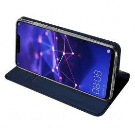 Husa Flip Tip Carte DuxDucis Skin Pro pentru Huawei Mate 20 Lite , Midnight Blue DuxDucis - 6