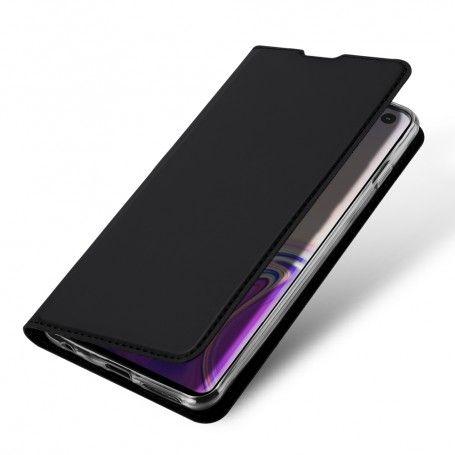 Husa Flip Tip Carte DuxDucis Skin Pro pentru Samsung Galaxy S10 , Neagra la pret imbatabile de 59,90lei , intra pe PrimeShop.ro.ro si convinge-te singur