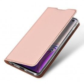 Husa Flip Tip Carte DuxDucis Skin Pro pentru Samsung Galaxy S10 , Rose Gold DuxDucis - 1