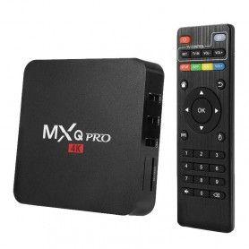 TV Box Smart MXQ PRO 4K, Quad Core 64bit, Black  - 1