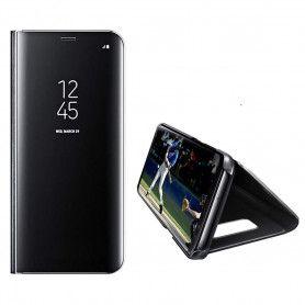 Husa Telefon Huawei P30 Lite Flip Mirror Stand Clear View  - 1