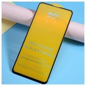 Folie Protectie Ecran pentru Samsung Galaxy S10e , Sticla securizata, Negru  - 2