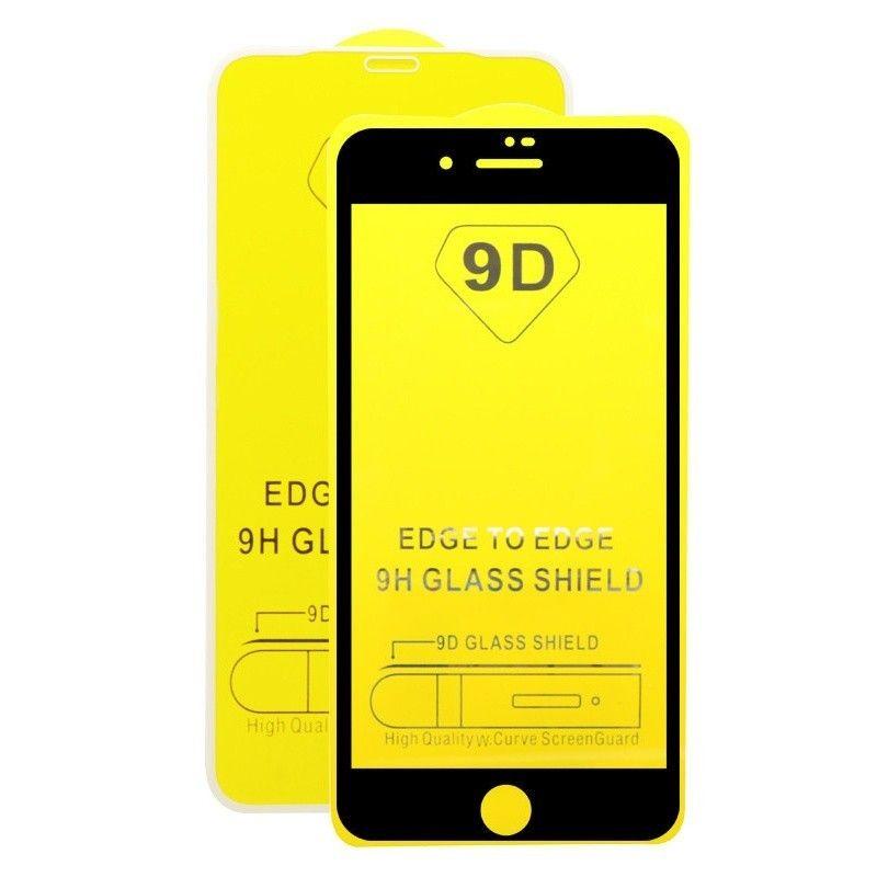 Folie Protectie Ecran pentru iPhone 5 / 5s / SE , Sticla securizata, Negru  - 1