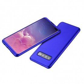 Husa 360 Protectie Totala Fata Spate pentru Samsung Galaxy S10, Albastra  - 3