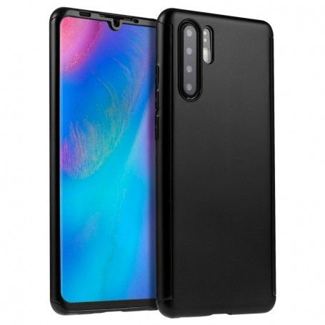 Husa 360 Protectie Totala Fata Spate pentru Huawei P30 Pro, Neagra la pret imbatabile de 45,00lei , intra pe PrimeShop.ro.ro si convinge-te singur
