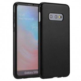 Husa 360 Protectie Totala Fata Spate pentru Samsung S10e, Neagra  - 1
