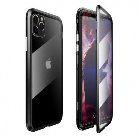 Husa Magnetica 360 cu sticla fata spate, pentru iPhone XI 11, Neagra la pret imbatabile de 109,00lei , intra pe PrimeShop.ro.ro si convinge-te singur