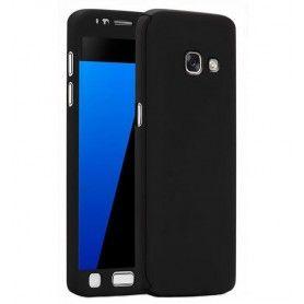 Husa 360 Protectie Totala Fata Spate pentru Samsung Galaxy A5 (2017) / A520, Neagra  - 1