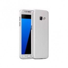 Husa 360 Protectie Totala Fata Spate pentru Samsung Galaxy A5 (2017) / A520, Argintie  - 1