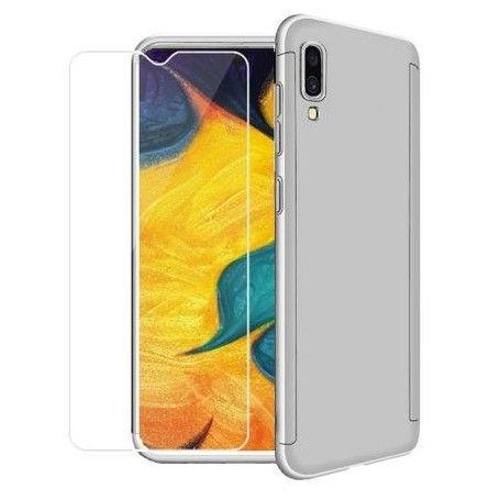 Husa 360 Protectie Totala Fata Spate pentru Samsung Galaxy A30s / A50 / A50s , Argintie la pret imbatabile de 39,00LEI , intra pe PrimeShop.ro.ro si convinge-te singur