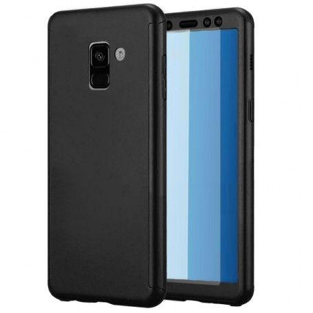 Husa 360 Protectie Totala Fata Spate pentru Samsung Galaxy A6 Plus (2018) , Neagra la pret imbatabile de 39,00LEI , intra pe PrimeShop.ro.ro si convinge-te singur