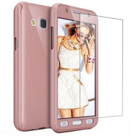 Husa 360 Protectie Totala Fata Spate pentru Samsung Galaxy J3 (2016) J310 , Rose Gold la pret imbatabile de 45,00lei , intra pe PrimeShop.ro.ro si convinge-te singur
