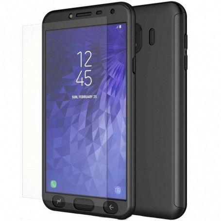 Husa 360 Protectie Totala Fata Spate pentru Samsung Galaxy J4 (2018) , Neagra la pret imbatabile de 45,00lei , intra pe PrimeShop.ro.ro si convinge-te singur