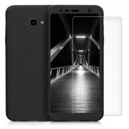Husa 360 Protectie Totala Fata Spate pentru Samsung Galaxy J4+ Plus (2018) , Neagra la pret imbatabile de 39,00LEI , intra pe PrimeShop.ro.ro si convinge-te singur