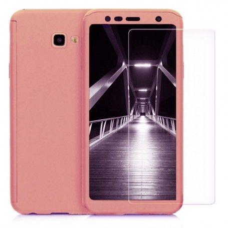 Husa 360 Protectie Totala Fata Spate pentru Samsung Galaxy J4+ Plus (2018) , Rose Gold la pret imbatabile de 45,00lei , intra pe PrimeShop.ro.ro si convinge-te singur