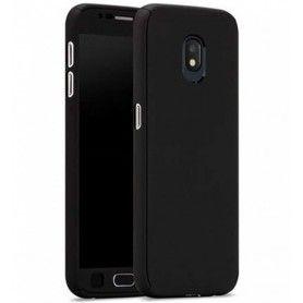 Husa 360 Protectie Totala Fata Spate pentru Samsung Galaxy J5 (2016) J510 , Neagra  - 1