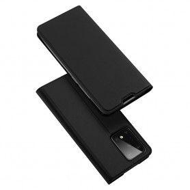 Husa Flip Tip Carte DuxDucis Skin Pro pentru Samsung S20 Ultra, Neagra DuxDucis - 2
