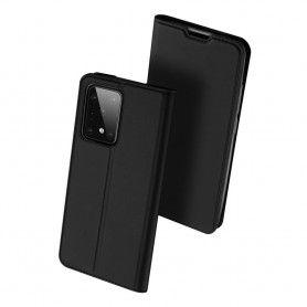 Husa Flip Tip Carte DuxDucis Skin Pro pentru Samsung S20 Ultra, Neagra DuxDucis - 3