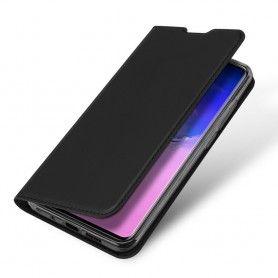 Husa Flip Tip Carte DuxDucis Skin Pro pentru Samsung S20 Ultra, Neagra DuxDucis - 5