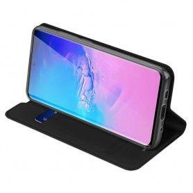 Husa Flip Tip Carte DuxDucis Skin Pro pentru Samsung S20 Ultra, Neagra DuxDucis - 6