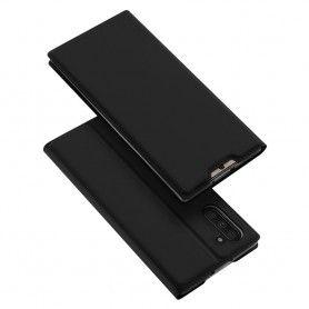 Husa Flip Tip Carte DuxDucis Skin Pro pentru Samsung Note 10, Neagra DuxDucis - 2