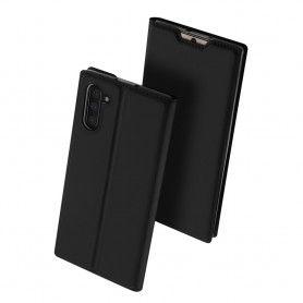 Husa Flip Tip Carte DuxDucis Skin Pro pentru Samsung Note 10, Neagra DuxDucis - 3