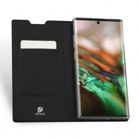 Husa Flip Tip Carte DuxDucis Skin Pro pentru Samsung Note 10, Neagra DuxDucis - 4