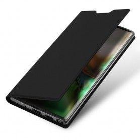 Husa Flip Tip Carte DuxDucis Skin Pro pentru Samsung Note 10, Neagra DuxDucis - 6
