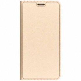 Husa Flip Tip Carte DuxDucis Skin Pro pentru Samsung A40, Aurie DuxDucis - 1