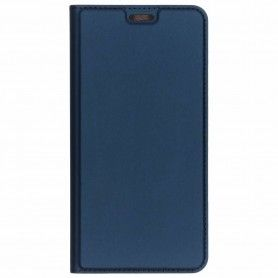 Husa Flip Tip Carte DuxDucis Skin Pro pentru Samsung A40, Midnight Blue DuxDucis - 1