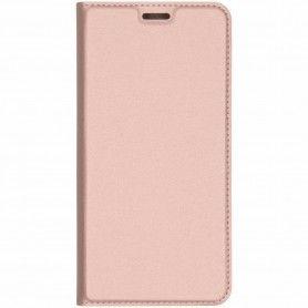 Husa Flip Tip Carte DuxDucis Skin Pro pentru Huawei P30 Lite, Rose Gold DuxDucis - 1