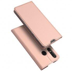 Husa Flip Tip Carte DuxDucis Skin Pro pentru Huawei P30 Lite, Rose Gold DuxDucis - 2