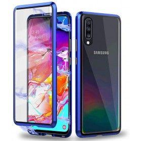 Husa Magnetica 360 cu sticla fata spate, pentru Samsung Galaxy A40  - 2