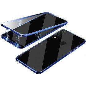Husa Magnetica 360 cu sticla fata spate, pentru Samsung Galaxy A40  - 1
