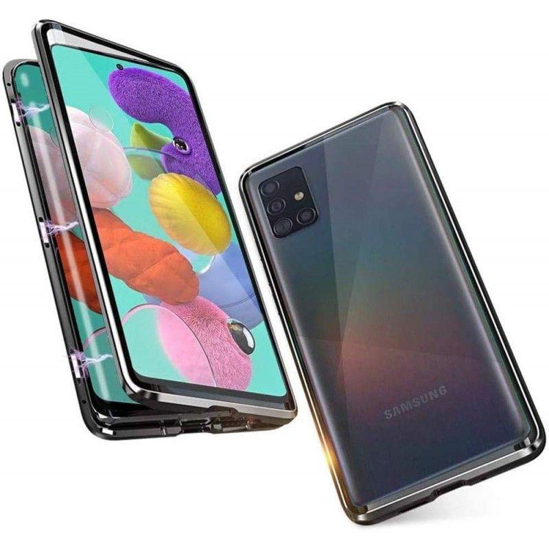 Husa Magnetica 360 cu sticla fata spate, pentru Samsung Galaxy A51  - 1