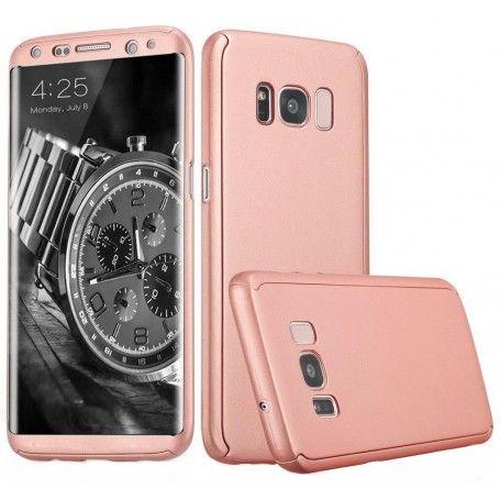 Husa 360 Protectie Totala Fata Spate pentru Samsung Galaxy S8, Rose Gold la pret imbatabile de 45,00lei , intra pe PrimeShop.ro.ro si convinge-te singur