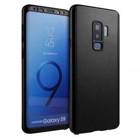 Husa 360 Protectie Totala Fata Spate pentru Samsung Galaxy S9, Neagra  - 1