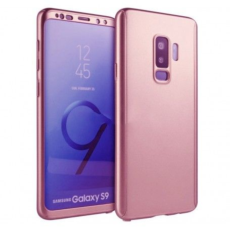 Husa 360 Protectie Totala Fata Spate pentru Samsung Galaxy S9, Rose Gold la pret imbatabile de 45,00lei , intra pe PrimeShop.ro.ro si convinge-te singur