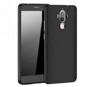 Husa 360 Protectie Totala Fata Spate pentru Huawei Mate 20 Lite , Neagra  - 1