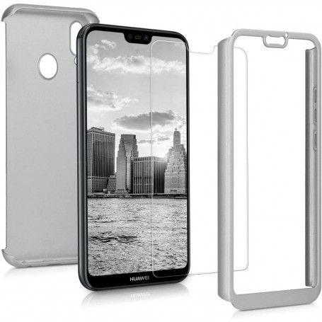 Husa 360 Protectie Totala Fata Spate pentru Huawei Mate 20 Lite , Argintie la pret imbatabile de 45,00lei , intra pe PrimeShop.ro.ro si convinge-te singur