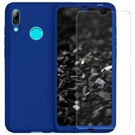 Husa 360 Protectie Totala Fata Spate pentru Huawei P Smart (2019) , Dark Blue  - 1