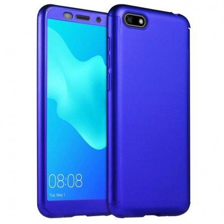 Husa 360 Protectie Totala Fata Spate pentru Huawei Y6 (2018), Dark Blue la pret imbatabile de 45,00lei , intra pe PrimeShop.ro.ro si convinge-te singur