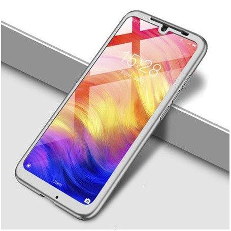 Husa 360 Protectie Totala Fata Spate pentru Huawei Y6 (2018), Argintie la pret imbatabile de 45,00lei , intra pe PrimeShop.ro.ro si convinge-te singur