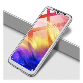 Husa 360 Protectie Totala Fata Spate pentru Huawei Y9 2019 , Argintie  - 1