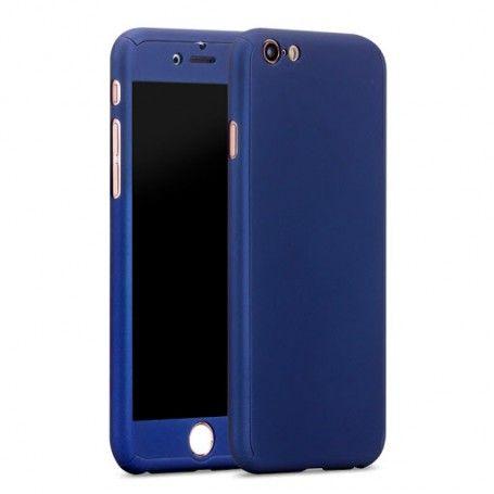 Husa 360 Protectie Totala Fata Spate pentru iPhone 6 Plus / 6s Plus , Dark Blue la pret imbatabile de 45,00lei , intra pe PrimeShop.ro.ro si convinge-te singur