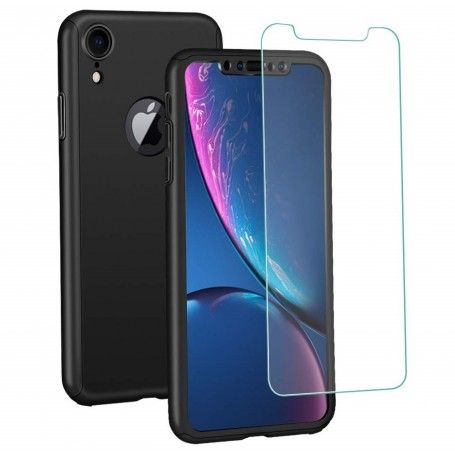 Husa 360 Protectie Totala Fata Spate pentru iPhone XR , Neagra la pret imbatabile de 39,00lei , intra pe PrimeShop.ro.ro si convinge-te singur